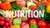 Dietetics/Nutrition